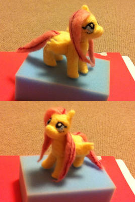 Felted Fluttershy