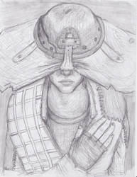 Dragon Age Inquisition Cole by ElizabethFri