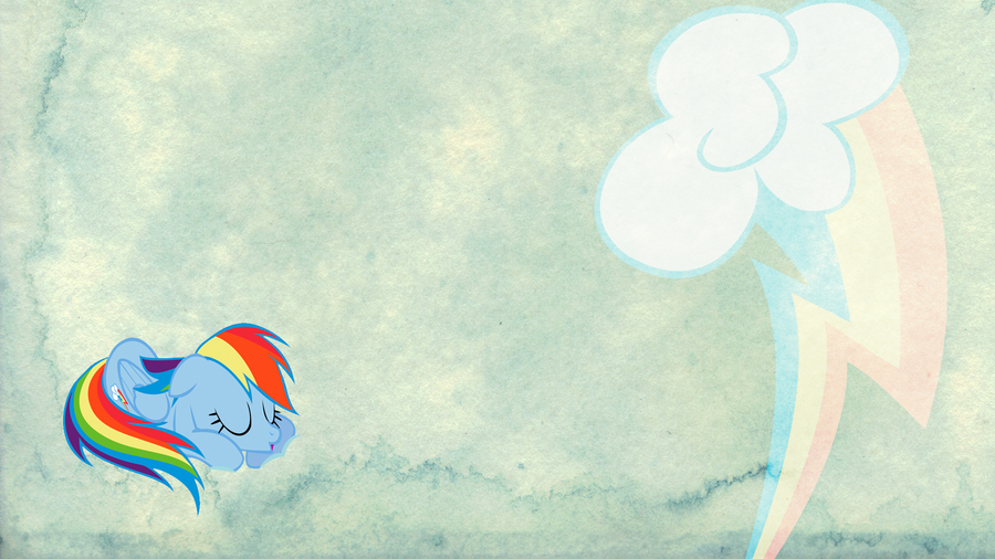 Rainbow Dash V2 AS Walllpaper by armando92