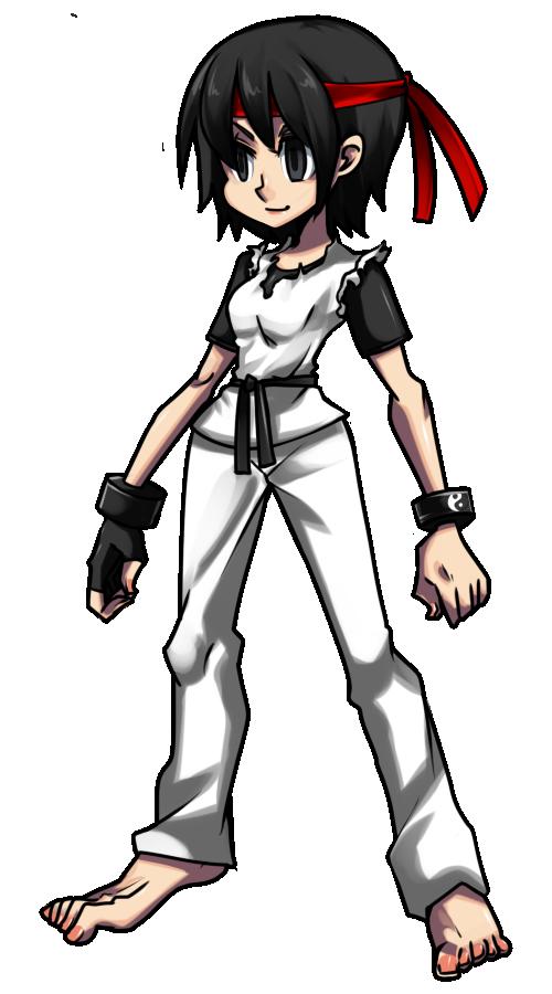 SkullGirls: Haruko Katagiri by MrDak3000