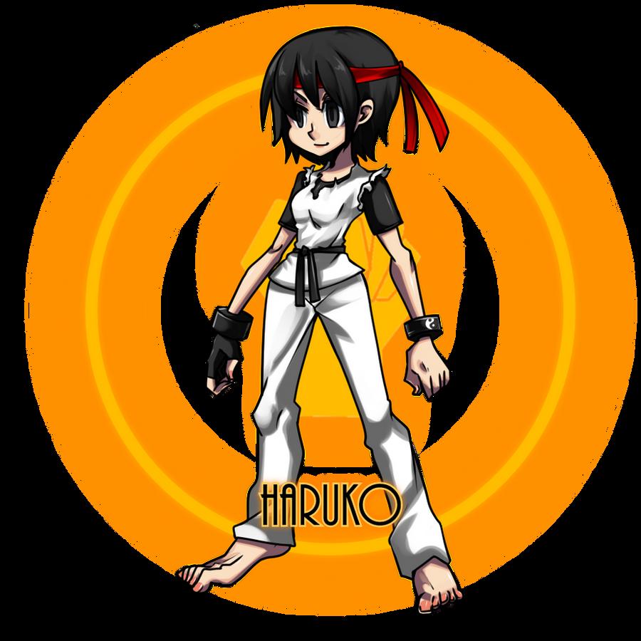 SkullGirls: Haruko Katagiri 2 by MrDak3000