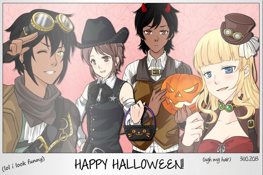 TEKKEN: Steampunk Halloween by MrDak3000