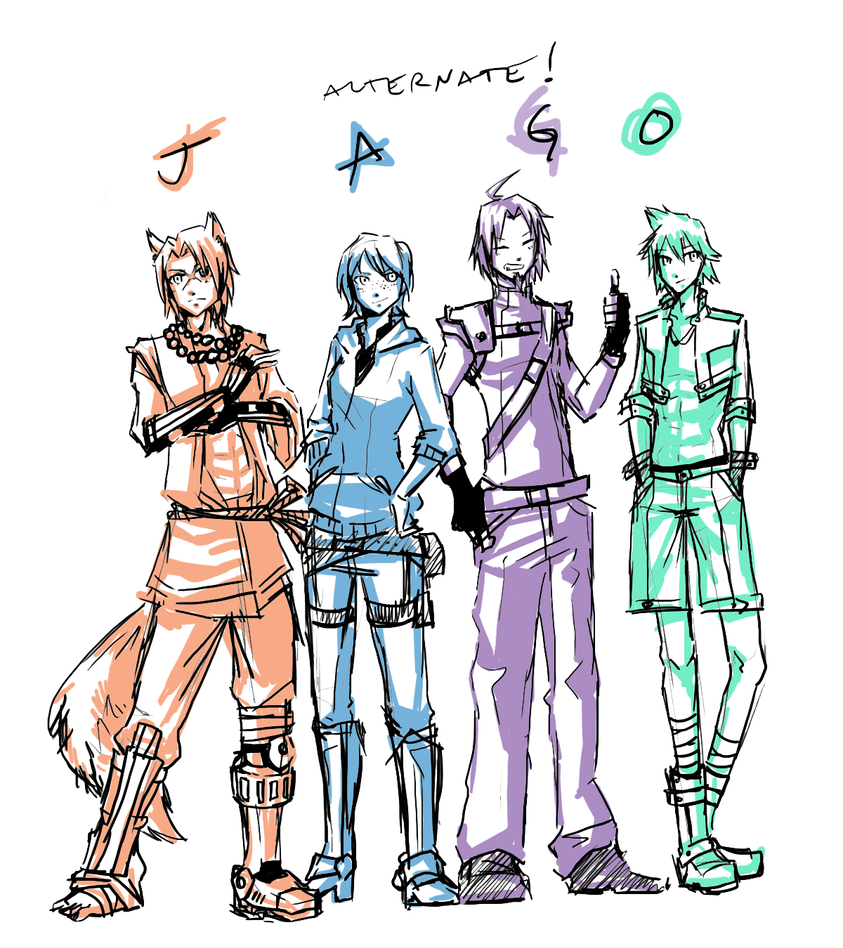 JAGO: Alternate Outfits by MrDak3000