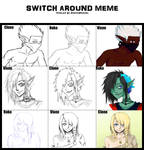 Switch Around Meme