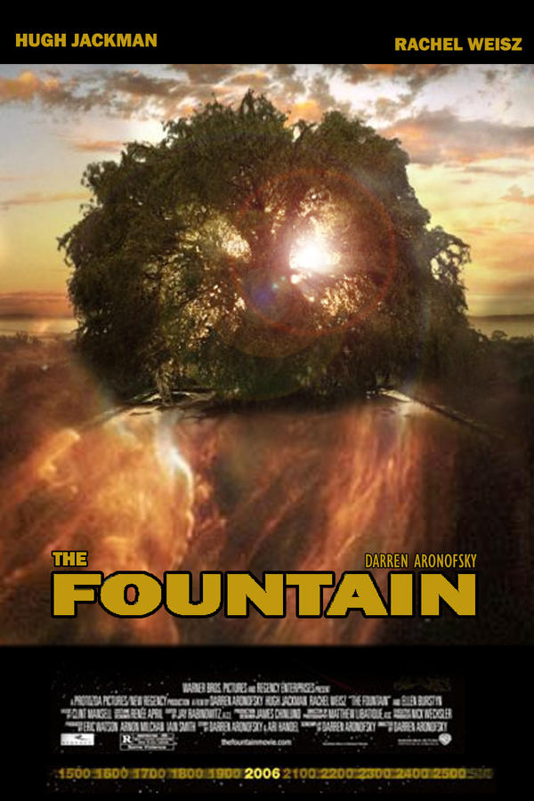 the fountain movie poster by mnmless on DeviantArt