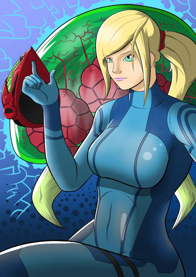 Samus zero suit : Metroid