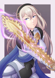 Digrixette cosplayed as Corrin 2