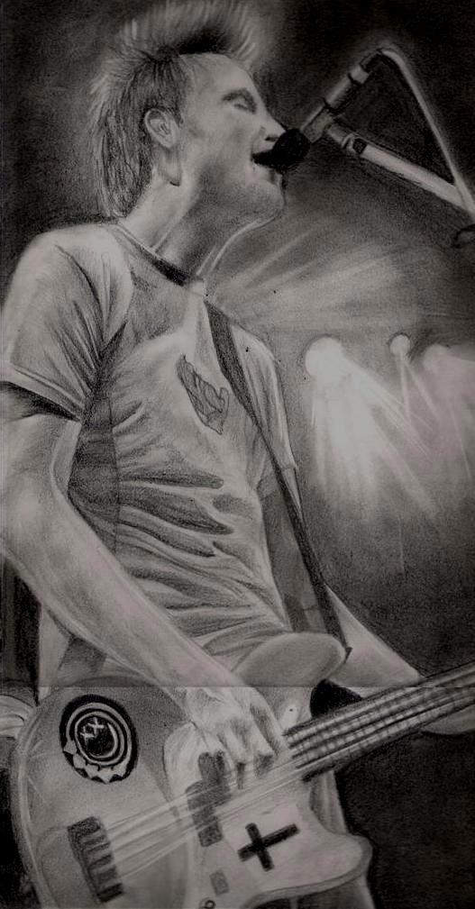 Mark Hoppus by yana182