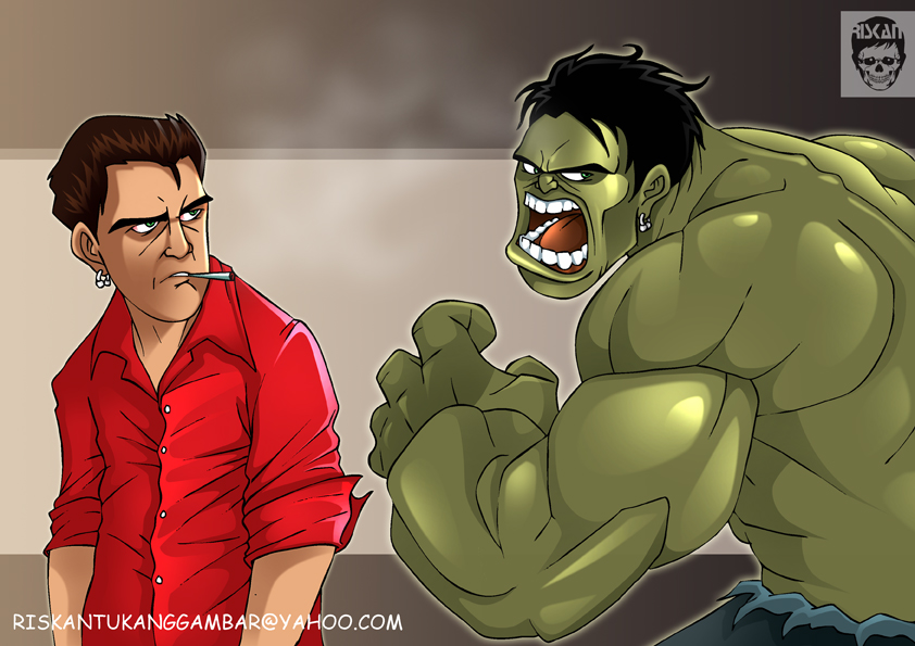 the HULK by riskan