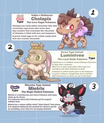 Pokemon Adopts 2 | OPEN | (2/3) by EyeSpy-Adopts