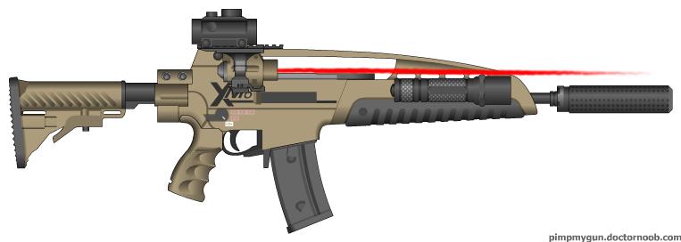XM8 Modular Combat Rif...