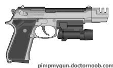 Beretta M9 by Jed1Mast3r