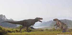 Tyrannosaurus Rex vs Megatherium