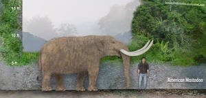 American Mastodon by SameerPrehistorica