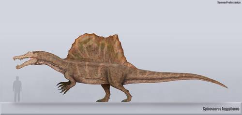 Spinosaurus Size