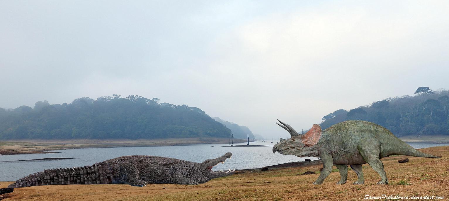 Deinosuchus Vs Spinosaurus   www.pixshark.com - Images ...