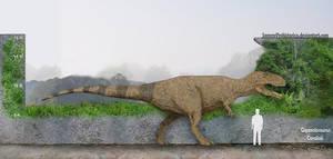 Giganotosaurus by SameerPrehistorica