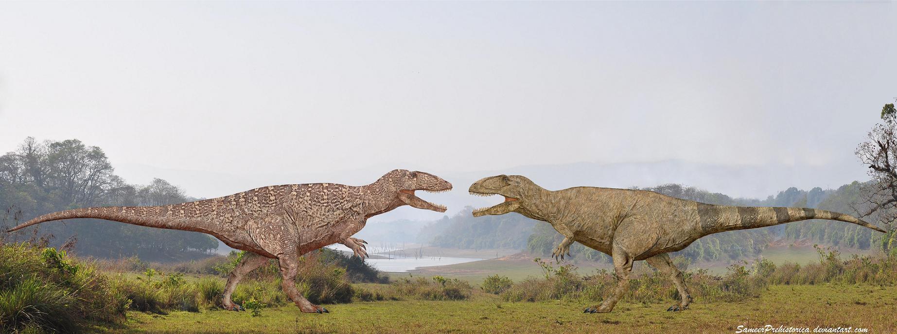 Carcharodontosaurus vs Giganotosaurus by ...