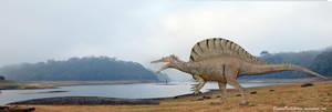 TitanoBoa vs Spinosaurus by SameerPrehistorica