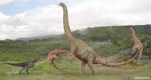 Argentinosaurus vs Theropods