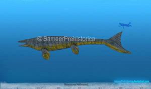 Mosasaurus Size