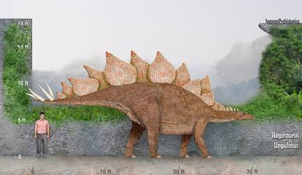 Stegosaurus by SameerPrehistorica