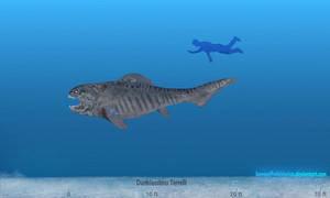 Dunkleosteus by SameerPrehistorica