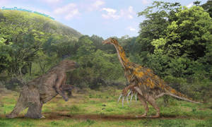 Megatherium vs Therizinosaurus