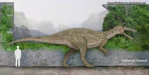 Suchomimus Size