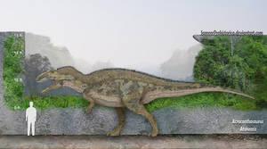 Acrocanthosaurus Size