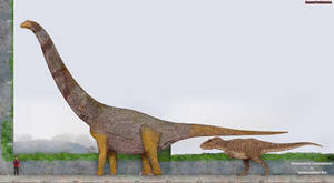 Alamosaurus by SameerPrehistorica