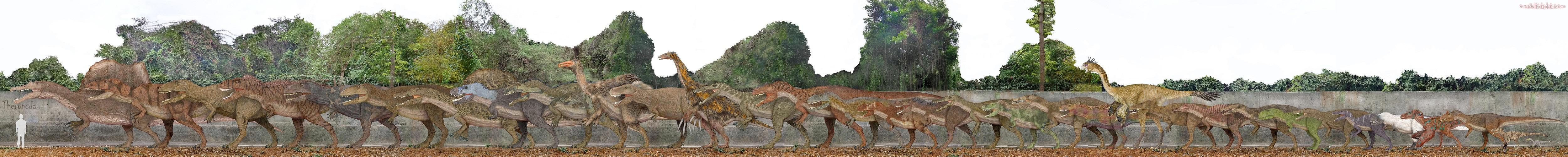 Theropoda by SameerPrehistorica