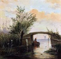 Le petit pont, Jongkind by Low688