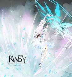 RWBY - Weiss by LittleKotone