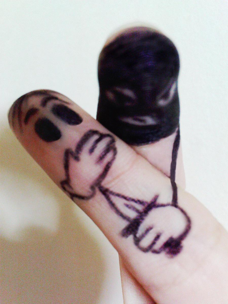 Finger robbery