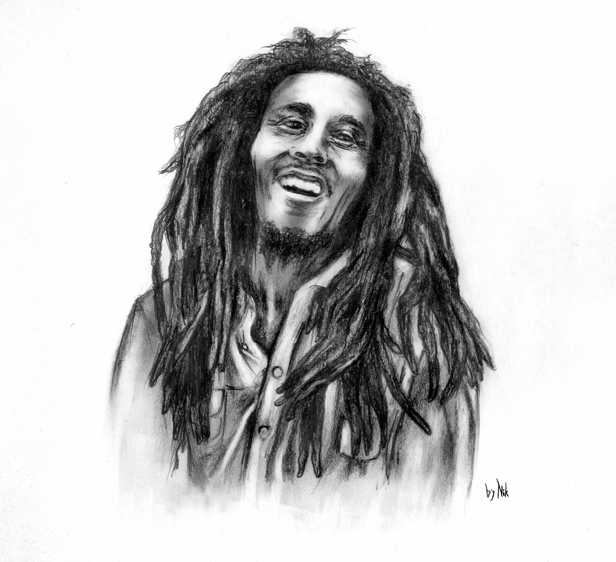 Bob Marley by NikoS92 Bob Marley by NikoS92