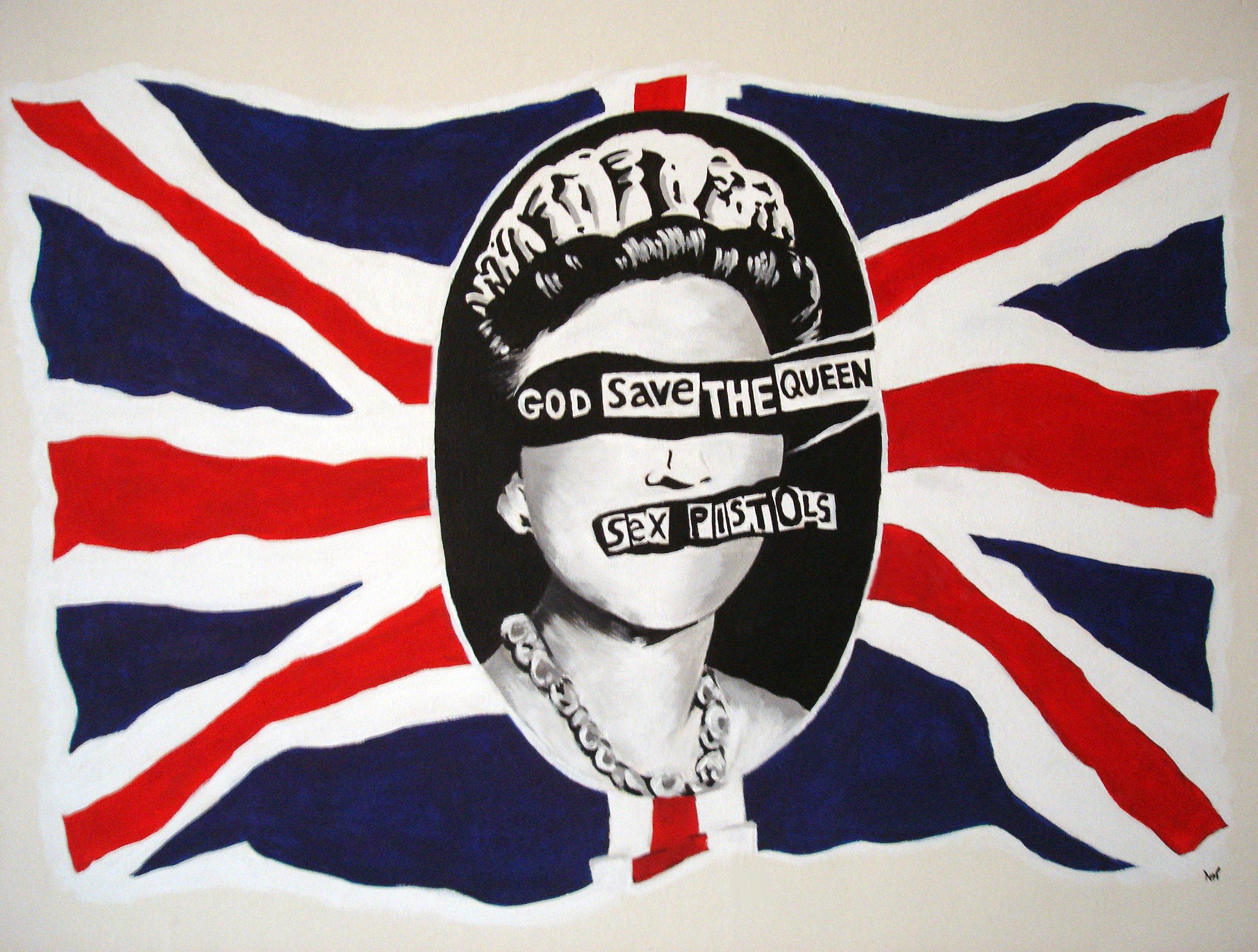 jamie reid god save the queen poster