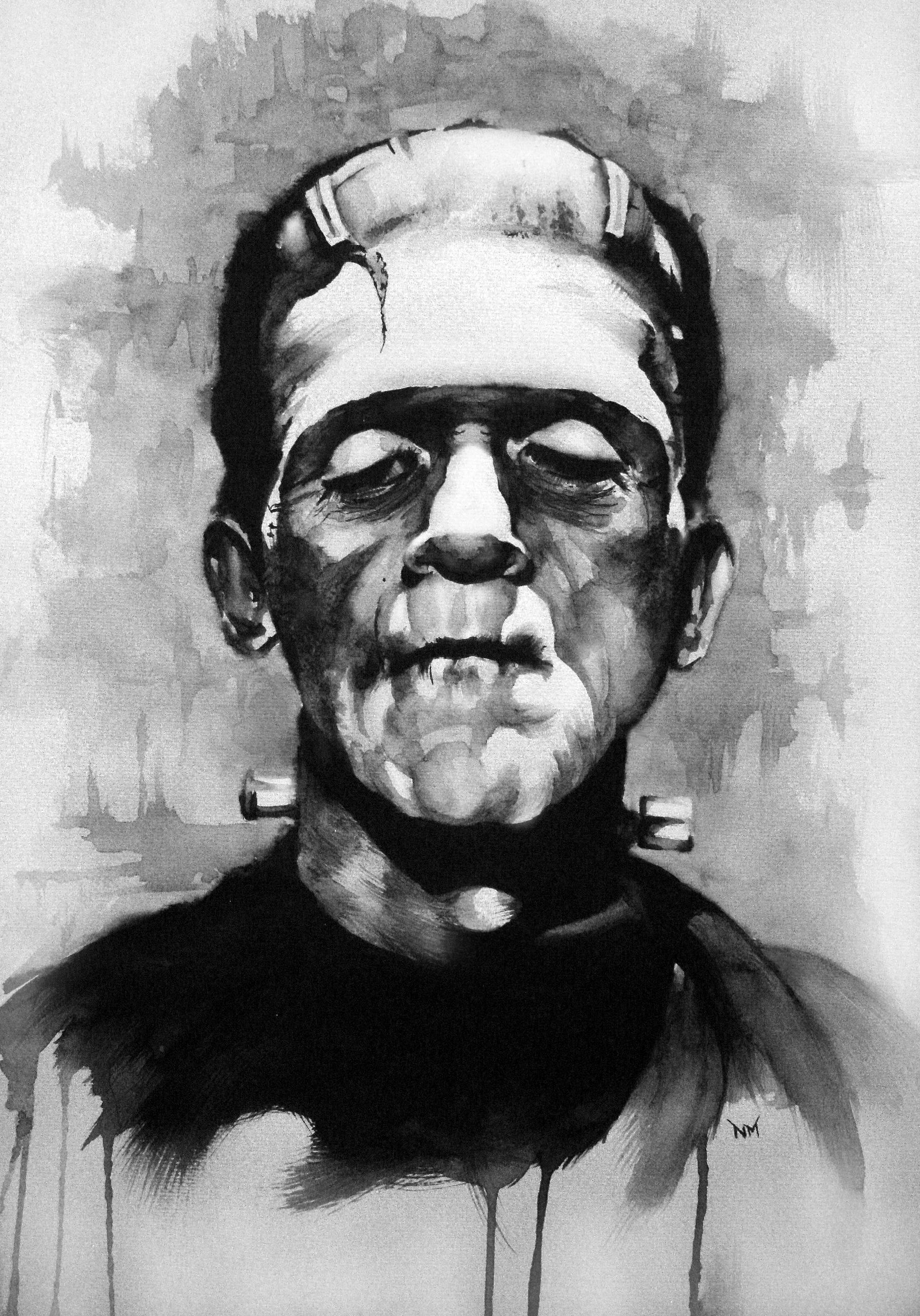 Frankenstein's Monster by NikoS92