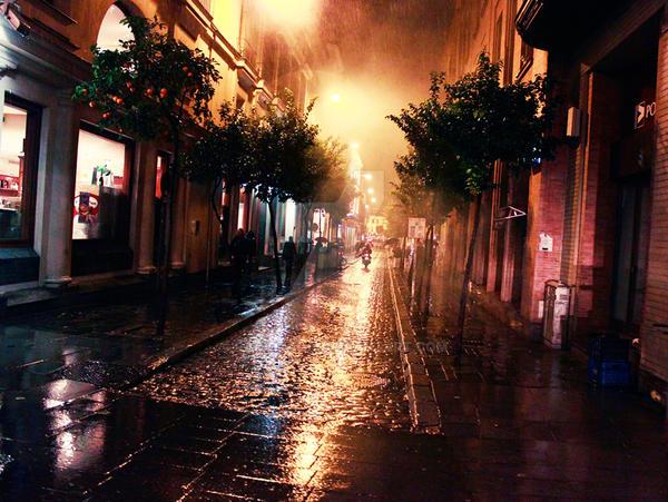 Streets of Sevilla by RadioRada