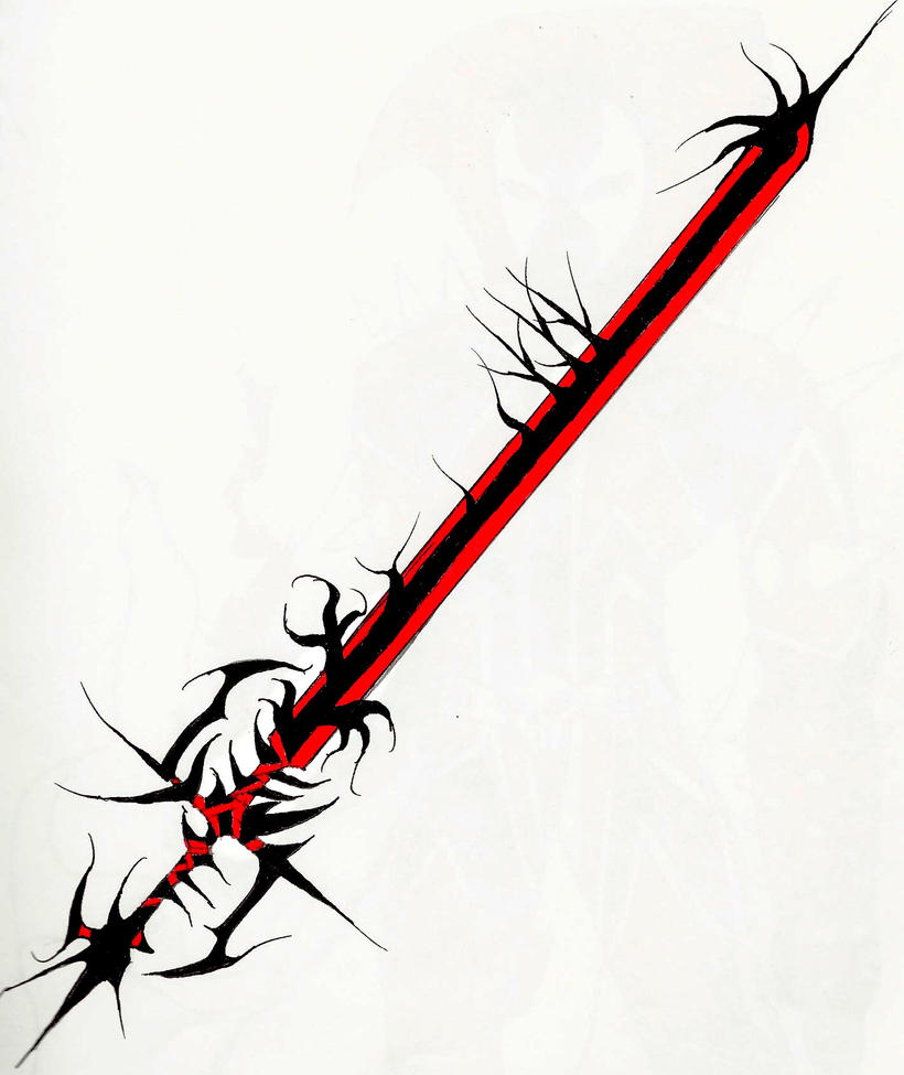Cool weapon 1 by eclyptic64 on deviantart for Cool fantasy drawings