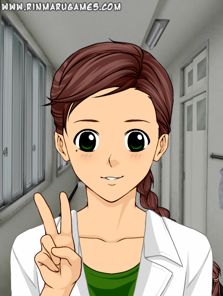 Jenni a la Rinmaru Games' Mega Anime Avatar Creator