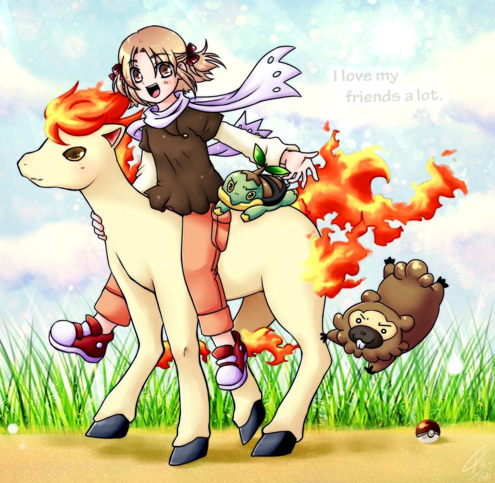 Pokemon - Team Mara by maia-7