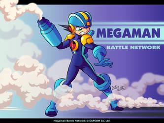 Megaman Battle Network by eltonpot
