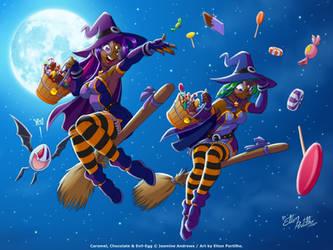 Caramel's Halloween 2008 by eltonpot