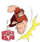 Wreck-it Ralph Sketch