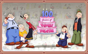 Thimble Theatre 100th anniversary