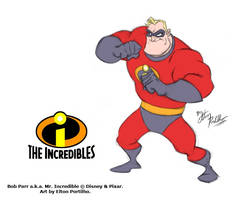 Mr. Incredible by eltonpot