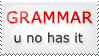 Grammar Stamp by illuminara
