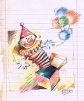 goldstar clown by Tibys
