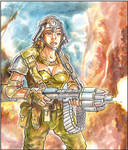 Girl commando